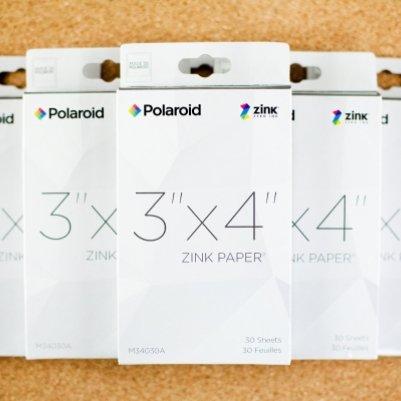 Бумага Zink полароида не будет пачкать и рваться со временем