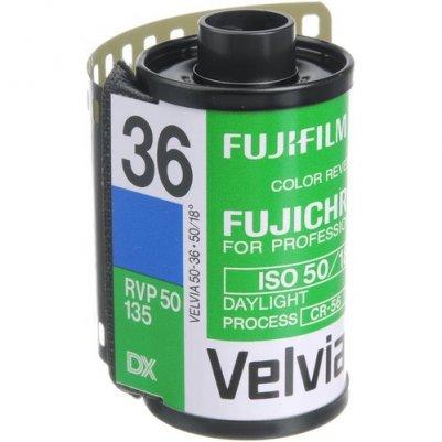 Fujifilm Fujichrome Velvia 50 Professional RVP 50  (35 мм пленка, 36 кадров)